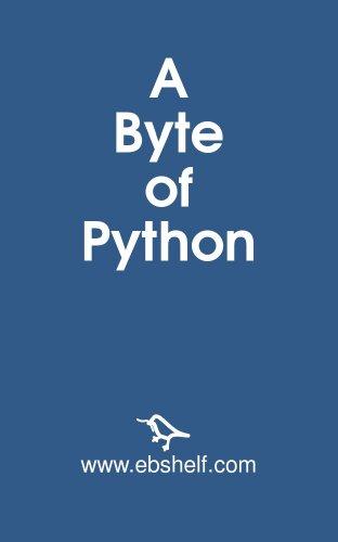 A Byte of Python - PDF Free Download - documento.site