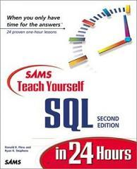 In days pdf teach yourself 21 pl sql sams