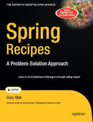 Spring Recipes A Problem-solution Approach Second Edition Pdf