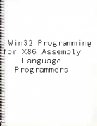 Win32 Programming for x86 Assembly Language Programmers